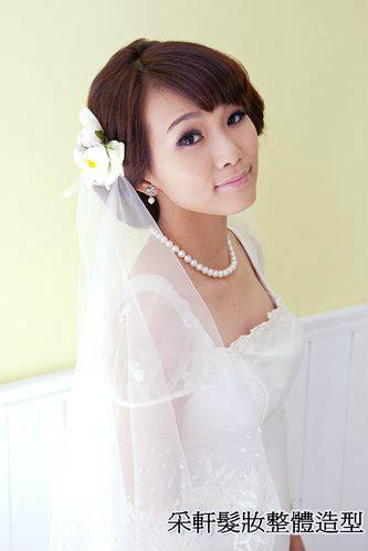 新娘造型-白紗_拍婚紗造型照片集E077