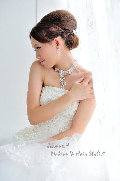 新娘造型-白紗_拍婚紗造型照片集E078