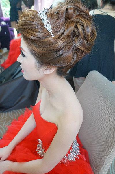 新娘造型-晚禮服_婚紗攝影造型照片集J056
