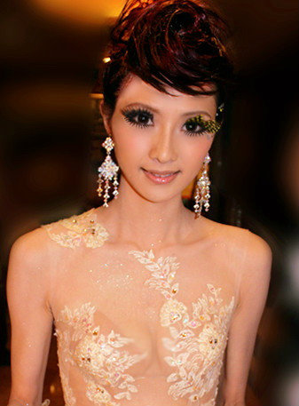 新娘造型-晚禮服_婚紗攝影造型照片集J058