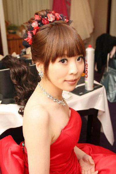 新娘造型-晚禮服_婚紗攝影造型照片集J065