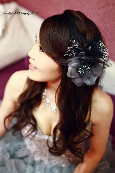 新娘造型-晚禮服_婚紗攝影造型照片集J068