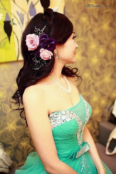 新娘造型-晚禮服_婚紗攝影造型照片集J069