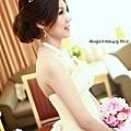 新娘造型-晚禮服_婚紗攝影造型照片集J070