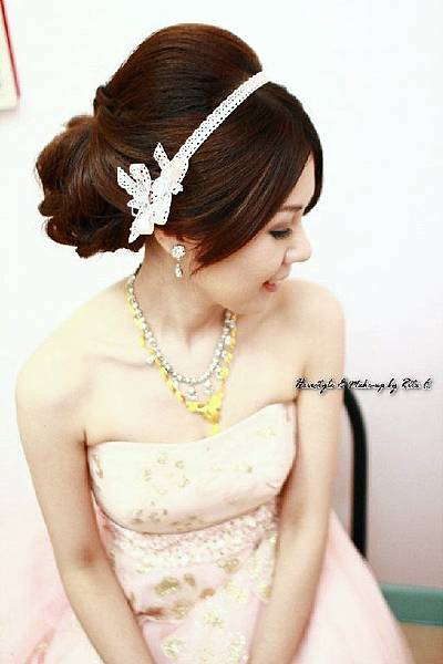 新娘造型-晚禮服_婚紗攝影造型照片集J071