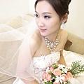 新娘造型-晚禮服_婚紗攝影造型照片集J073