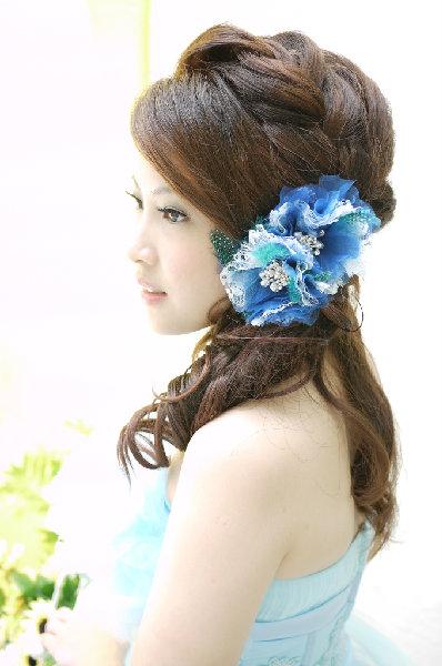 新娘造型-晚禮服_婚紗攝影造型照片集J075