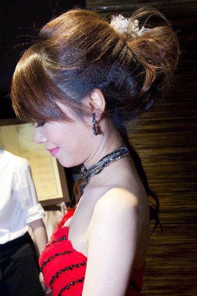 新娘造型-晚禮服_婚紗攝影造型照片集J076