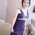 新娘造型-晚禮服_婚紗攝影造型照片集J077
