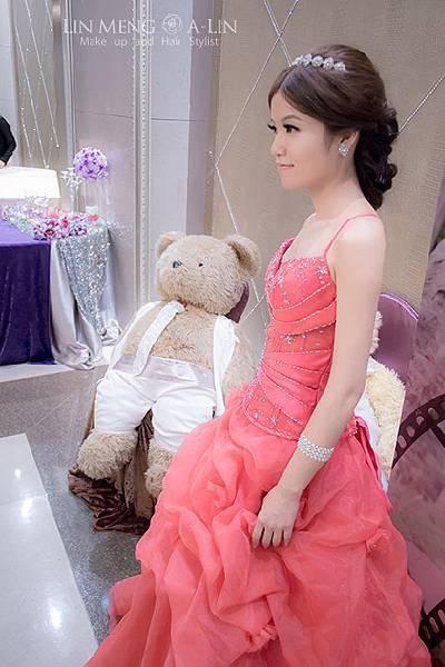 新娘造型-晚禮服_婚紗攝影造型照片集J080