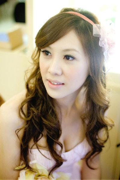 新娘造型-晚禮服_婚紗攝影造型照片集J083