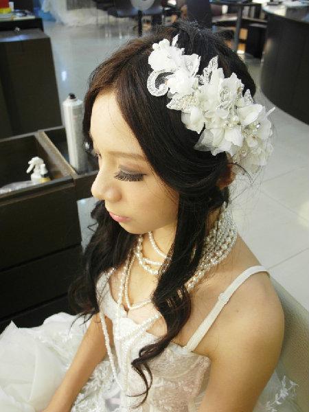 新娘造型-晚禮服_婚紗攝影造型照片集J084