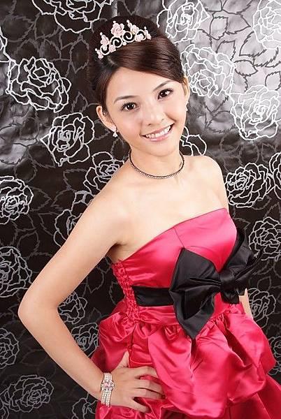 新娘造型-晚禮服_婚紗攝影造型照片集J085