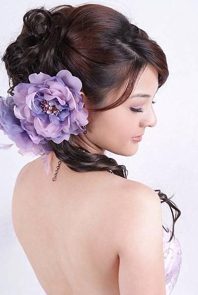 新娘造型-晚禮服_婚紗攝影造型照片集J086