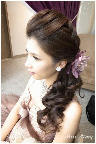 新娘造型-晚禮服_婚紗攝影造型照片集J087