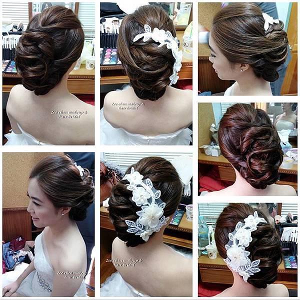 台東婚禮造型師Zoe chen