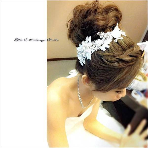 新娘秘書:RitaC麗塔時尚髮妝造型