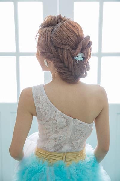 新娘髮型:雅姿整體造型