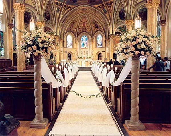 結婚教堂佈置