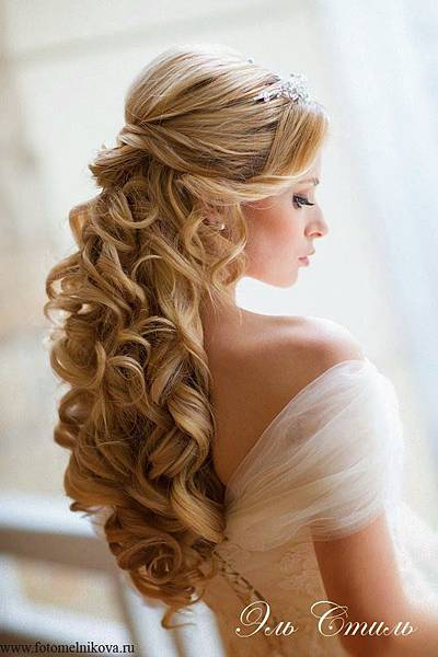 新娘造型華麗編髮2