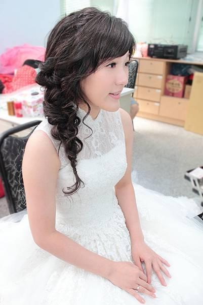 新娘秘書:沛錡Peggy婚禮彩妝造型