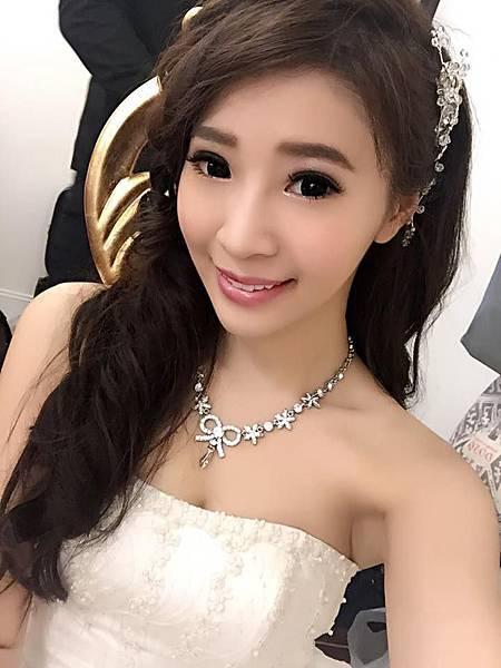 新娘造型:琬菁