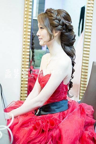 新娘造型-編髮