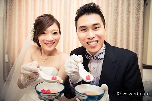 訂結婚吃湯圓