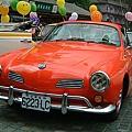 【易特商務網】1966年福斯卡門金龜車橘紅色古董車出租