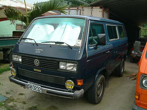 【易特商務網】福斯1989年藍色,排氣量2100cc這是一部特殊規格的車子.四輪傳送古董車出租