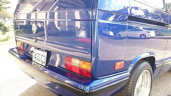 『易特商務網古董車出租』福斯 T3 1990年 商旅7人座 CART (鑽石) 水晶珍珠藍