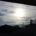 我在九曲堂火車站,天氣晴