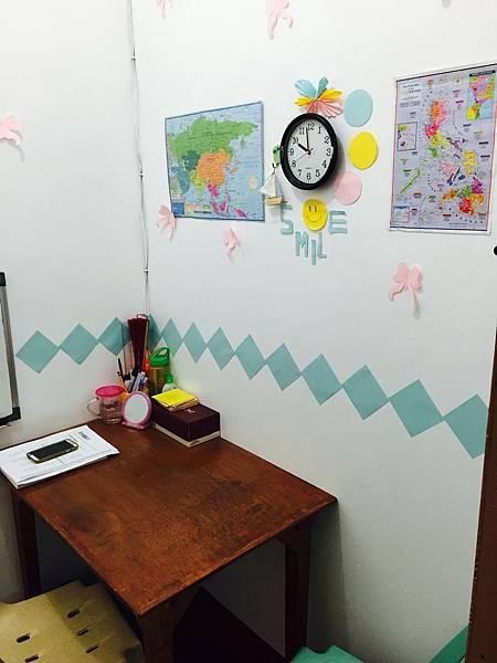 菲律賓語言學校長灘島PE教室佈置