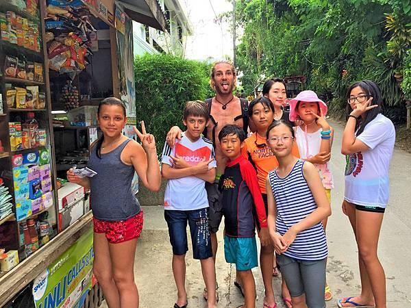 長灘島PE菲律賓語言學校夏令營營隊