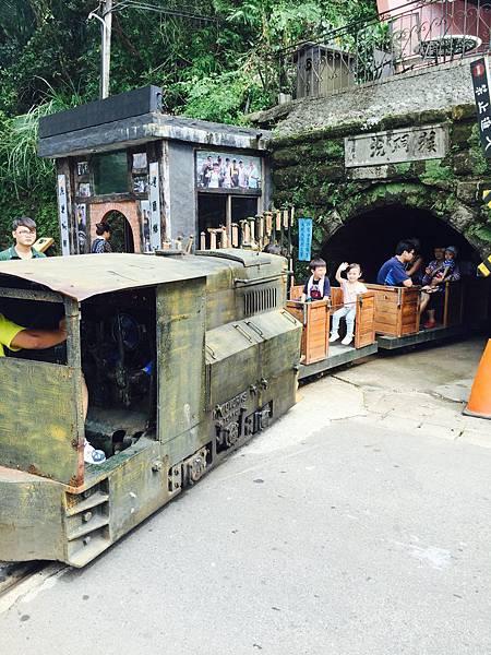 猴硐景點採礦小火車