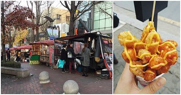 梨大周邊景點推薦LINE熊大拍照+校園小吃街