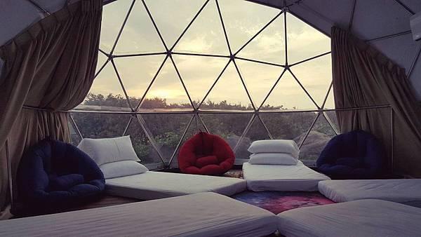 新北半島秘境星空帳篷