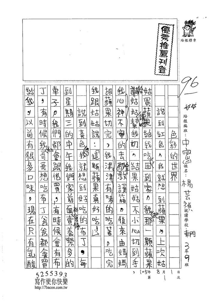 105暑TMW201 楊芸禎 (1)