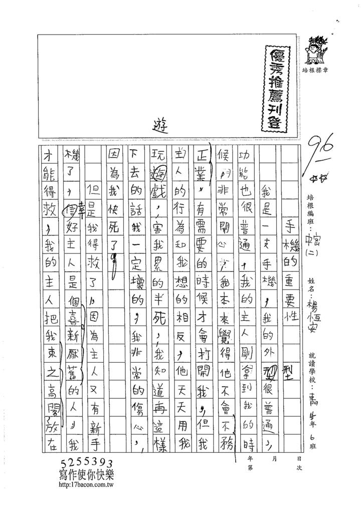 105暑TMW203 楊恆安 (1)