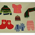 Felt Pieces of Clothes