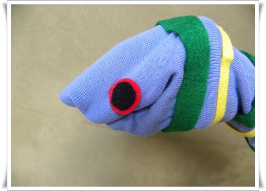 [Prop] Snake Hand Puppet