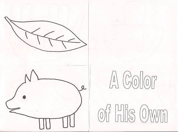 Mini-book: A Color of His Own