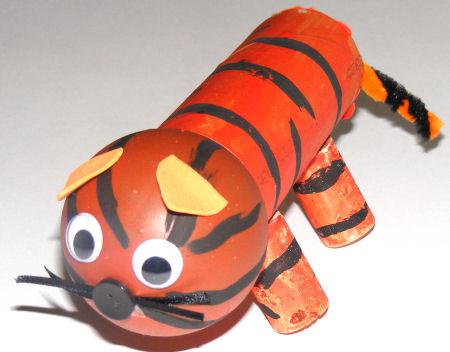 TP Roll Tiger