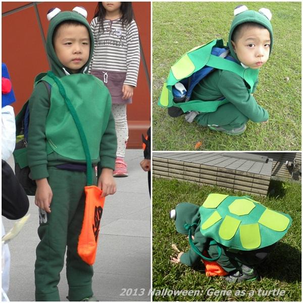 小駿的烏龜造型