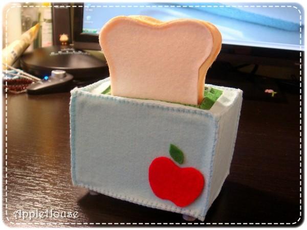 蘋果牌烤麵包機XD