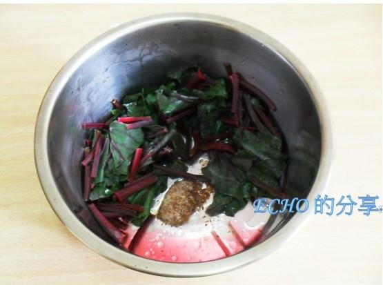 涼拌甜菜根葉-04