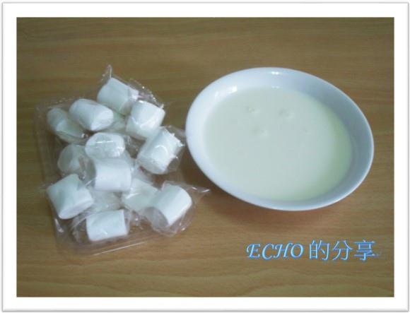 棉花糖牛奶布丁
