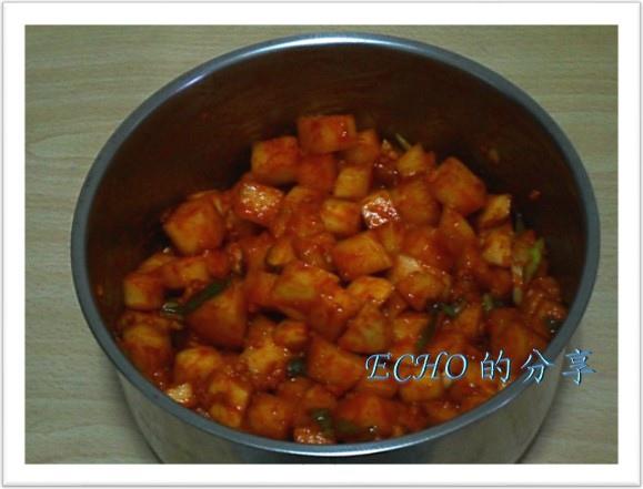 韓式白蘿蔔泡菜