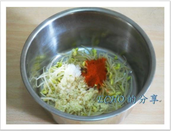 韓式涼拌黃豆芽
