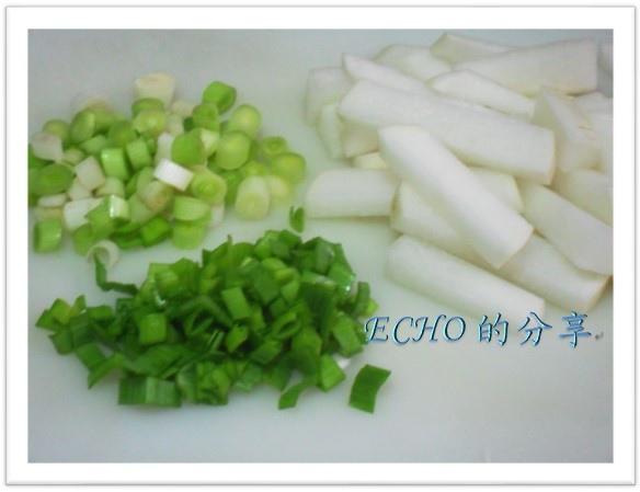 蒜苗炒蘿蔔